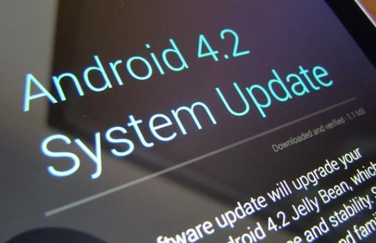 Android 4.2.2 atualização