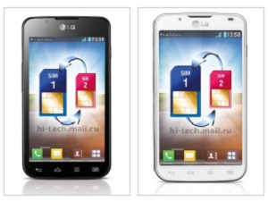 lg optimus l7 dual chip, dois chips