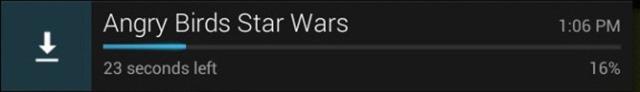 nova barra de download android 4.2.2