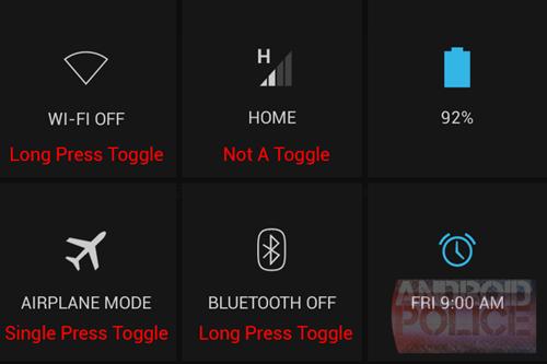 notificações android 4.2.2