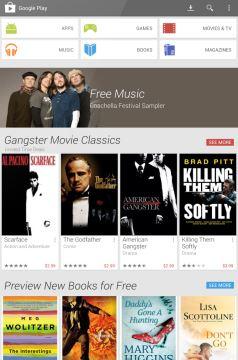 Google Play: novo visual traz imagens maiores