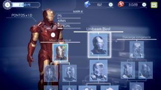 Homem de Ferro 3 - área de armaduras