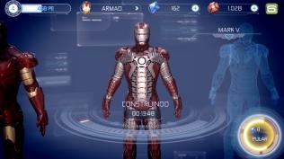 Homem de Ferro 3 - construindo uma armadura