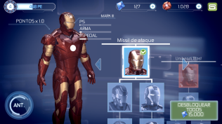 Homem de Ferro 3 - primeira armadura
