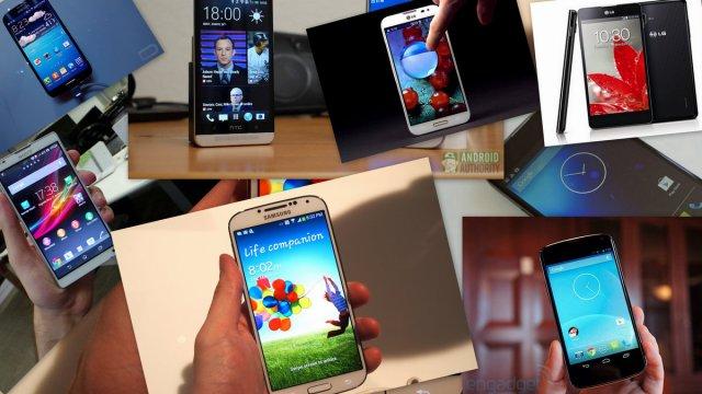 Qual é o melhor smarthphone de 2013 com o android