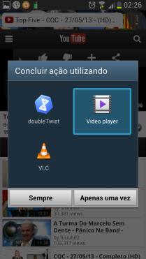 Redimensionamento de videos reproduzidos em site mobile.