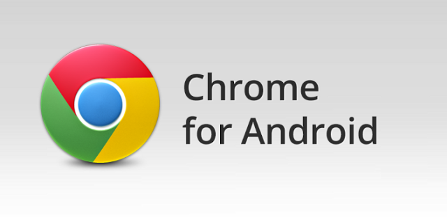 Google Chrome para Android.