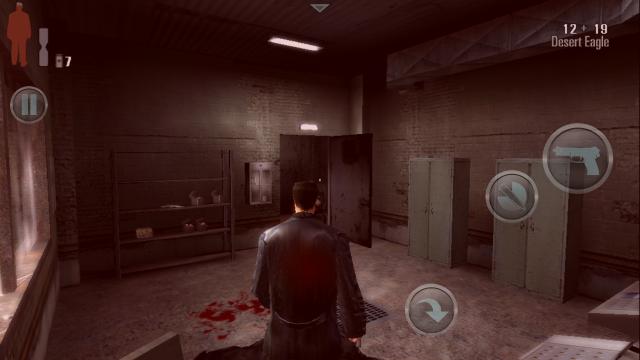 Momento onde você leva muitos tiros a tela ficará meia vermelha, você estará perto de ser morto.