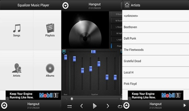 Equalizer-Music-Player
